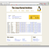 The Linux Kernel Archives
