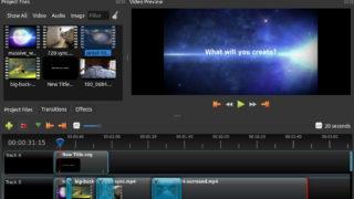 OpenShot を使ってLinuxでも動画編集ができる!