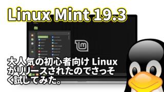 Linux Mint 19.3: 大人気の初心者向け Linux がリリースされたのでさっそく試してみた。