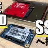 Windows XP 世代ジャンク PC の IDE HDD を SSD へ換装してみた。
