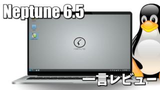 一言レビュー: Neptune 6.5